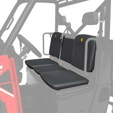 full size seatsaver split bench seat carhartt gravel polaris