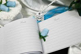 wedding register book cinderella carriage wedding guest registry sign in book