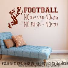 football no grass stain