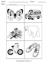 kindergarten worksheets alphabet picture cards alphabet sorting