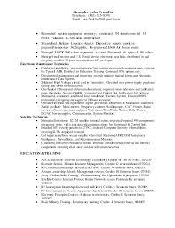 Up Resume Alexander Franklin Civilian Resume Build Up