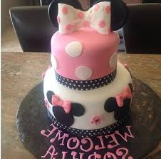 minnie mouse baby shower cake designs gallery picture cake
