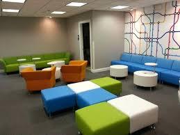 beautiful modern office furniture reception desk on interior home