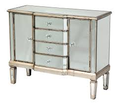Mirrored Glass Bedroom Furniture Furniture Delectable Image Of Vintage 6 Drawer Mirrored Dresser