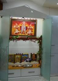 Puja Room Designs 63 Best Pooja Cabinet Images On Pinterest Puja Room Prayer Room
