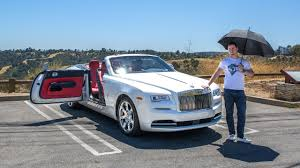 roll royce rolsroy insane 408 000 rolls royce dawn youtube