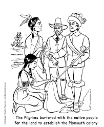 thanksgiving coloring pages plymouth colony coloring page sheets
