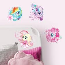 3 wall decals to create a magical my little pony bedroom