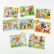 buy illustrated kinds of family jigsaw puzzles 8pk tts