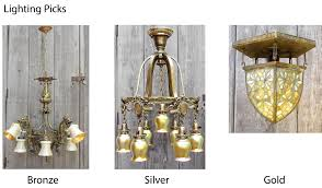 bronze and silver light fixtures salvaged our bronze silver and gold picks for antique lighting