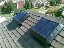solar attic fans soffit vents airhawks natural lighting