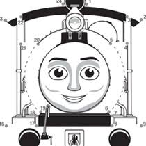 thomas friends coloring pages colouring timothy dot 2