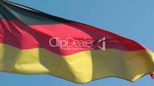 Germman Flag Deutschland Flagge Im Wind Video German Flag Royalty Free