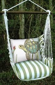 summer sea turtle hammock chair swing gardenfun com