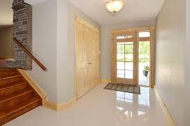Porcelain Tile Entryway Custom Craftsman Thornbury Construct U0026 Conserve Building Inc
