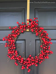 berry wreath make a winter berry wreath in 15 minutes for 15 thrifty