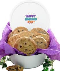 where to buy cookie tins happy nurses day tin of cookies aagiftsandbaskets