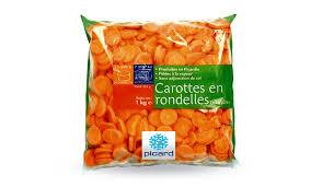 cuisiner des carottes en rondelles carottes en rondelles surgelés les légumes picard