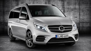 luxury minivan 2016 2016 mercedes benz v class amg line review top speed