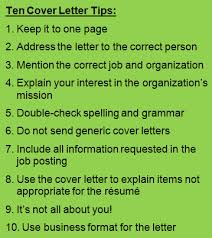 10 basic cover letter tips you u0027ll need a great cv and cover