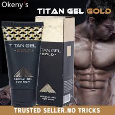 2pcs original titan gel gold russia penis enlargement cream retarder