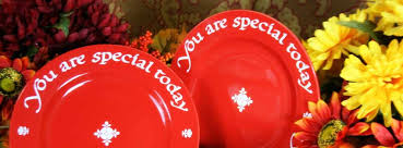 plate you are special you are special today plate home