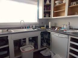 How To DIY A Professional Finish When Repainting Your Kitchen - Professional kitchen cabinet