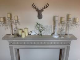 Shabby Chic Fireplace by Shabby Chic Fire Surround Fireplace Mantlepiece Old Ochre