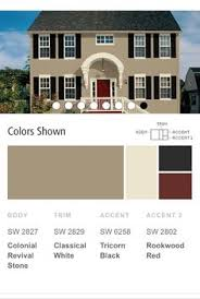 color combos for exterior of house exterior paint trim color