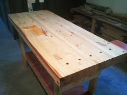 Simple Wood Workbench Plans by Build A 100 2x4 Workbench With This Simple Instructable