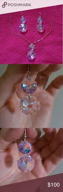 dyadema earrings sold dyadema swarovski pendant earring set pendant