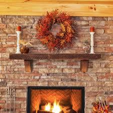 cherokee wood mantel shelves fireplace mantel shelf