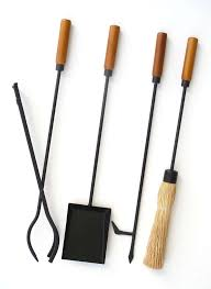 mid century modern fireplace tool set at 1stdibs