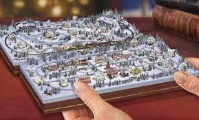 kinkade miniature and railroad from