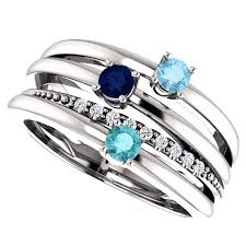 mothers rings images Mother 39 s ring multi band gittelson jewelers minneapolis png