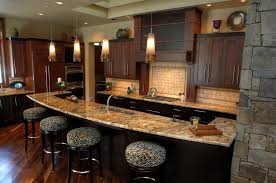 custom kitchen designs with modern space saving design custom