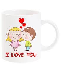 buy coffee mugs online india deco pride india i love you cute coffee mug buy online at best