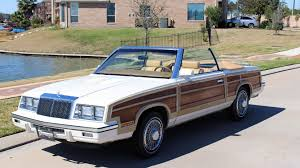 chrysler lebaron 1985 chrysler lebaron convertible t123 houston 2015