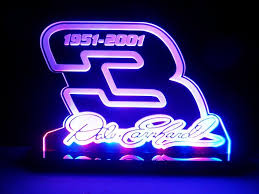 Man Cave Led Lighting by Dale Earnhardt Sr 3 Signature Nascar Led Lamp Night Light Signs