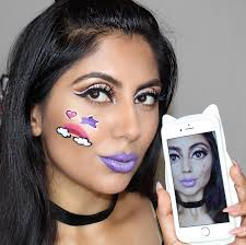 snapchat filter makeup tutorial bratz doll filter video
