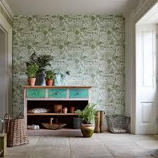 buy sanderson 216353 the allotment wallpaper potting room