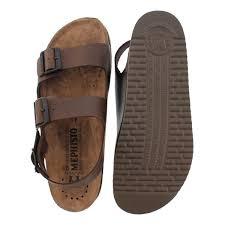mephisto men u0027s nardo brown cork footbed sandals