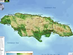 Map Jamaica Jamaica By Muxiguai