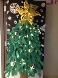 Classroom Door Christmas Decorations Christmas Tree Door Decoration Diy Pinterest Christmas Tree