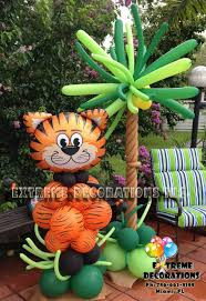 baby shower decorations jungle theme balloon decorations jungle