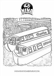 boat coloring sheet newcoloring123