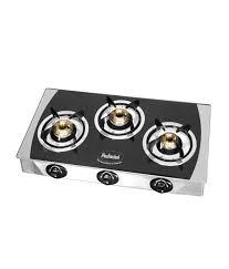 Cooktop Price Padmini Cs 3gt 3 Burner Glass Gas Cooktop Price In India Buy