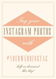 Wedding Signs Template Instagram Wedding Sign Generator