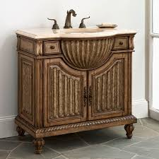 French Bathroom Decor by Antique Bathroom Vanity For Luxury Bathroom Decoration