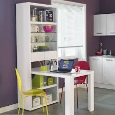 alinea table cuisine étagère à tiroirs avec table de repas intégrée blanc exit